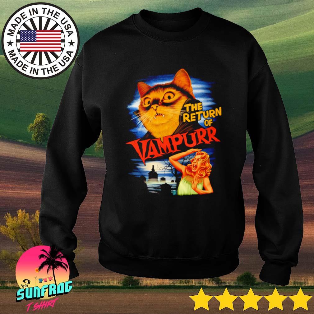 Cat the return of Vampurr s Sweater Black