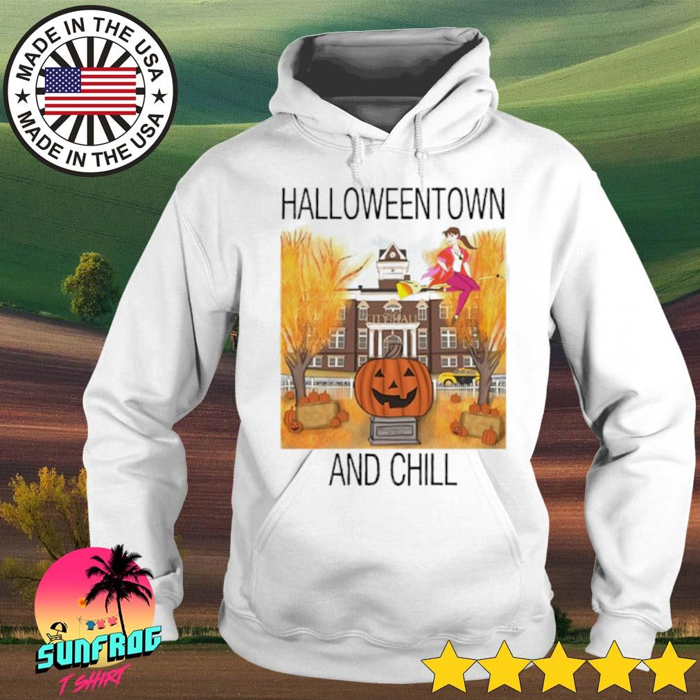 Halloweentown and chill s Hoodie White