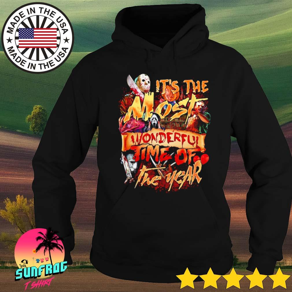 Horror characters it's the most wonderful time of the year s Hoodie Black