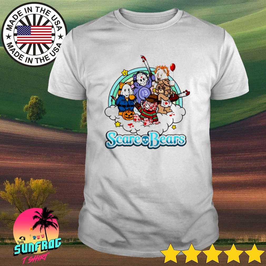 Horror characters Scare Bears Halloween shirt