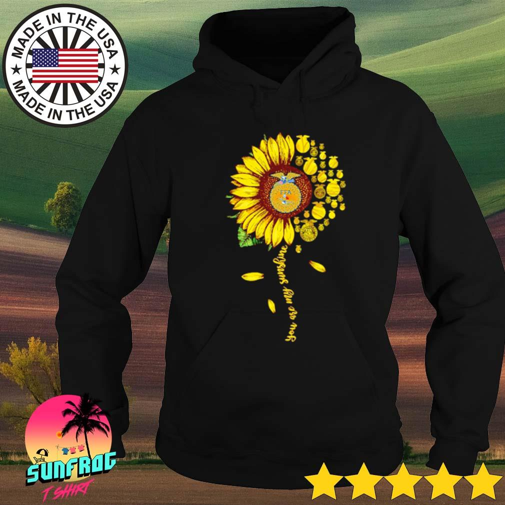 National FFA Organization Sunflower you are my sunshine s Hoodie Black