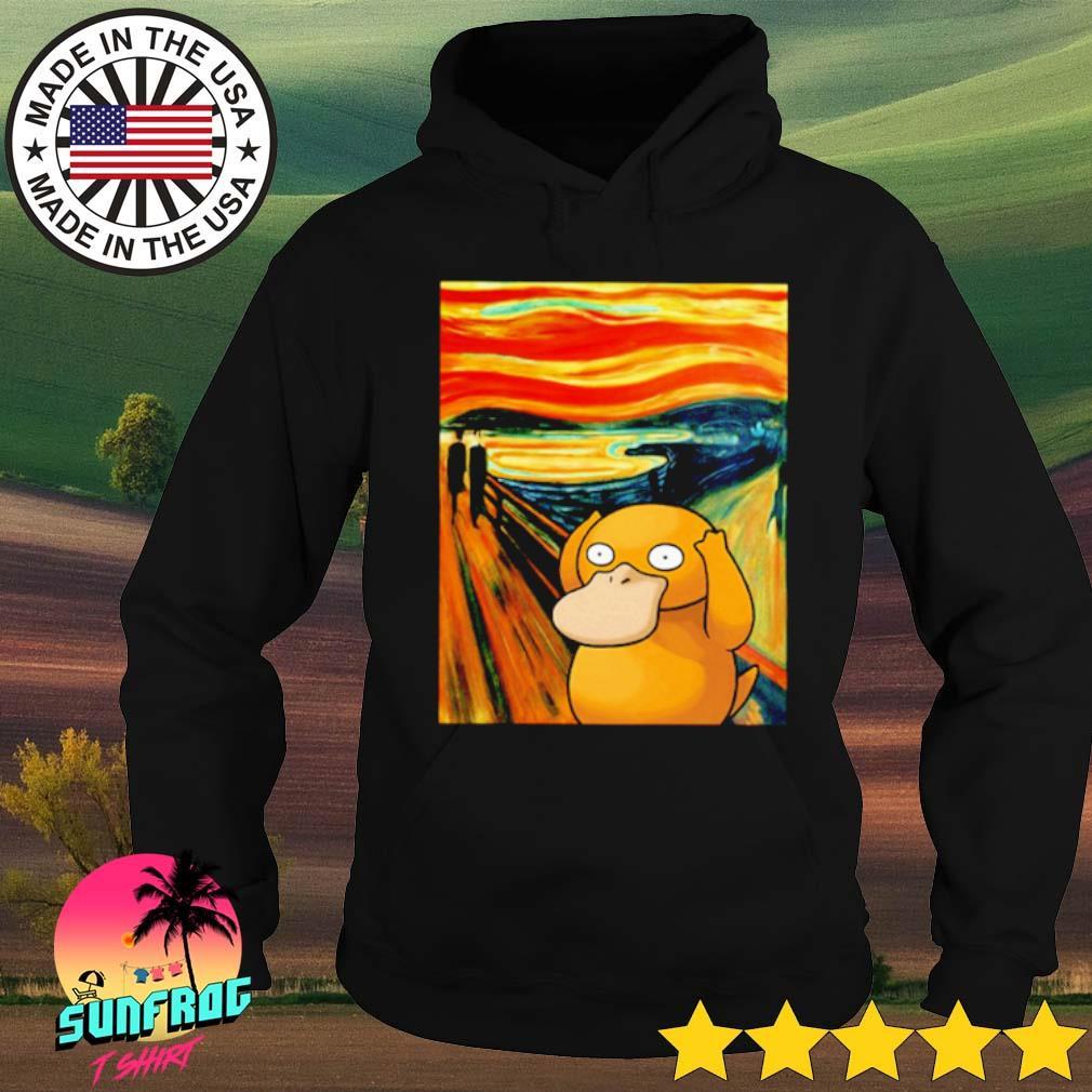 Pokemon Psyduck Van Gogh s Hoodie Black