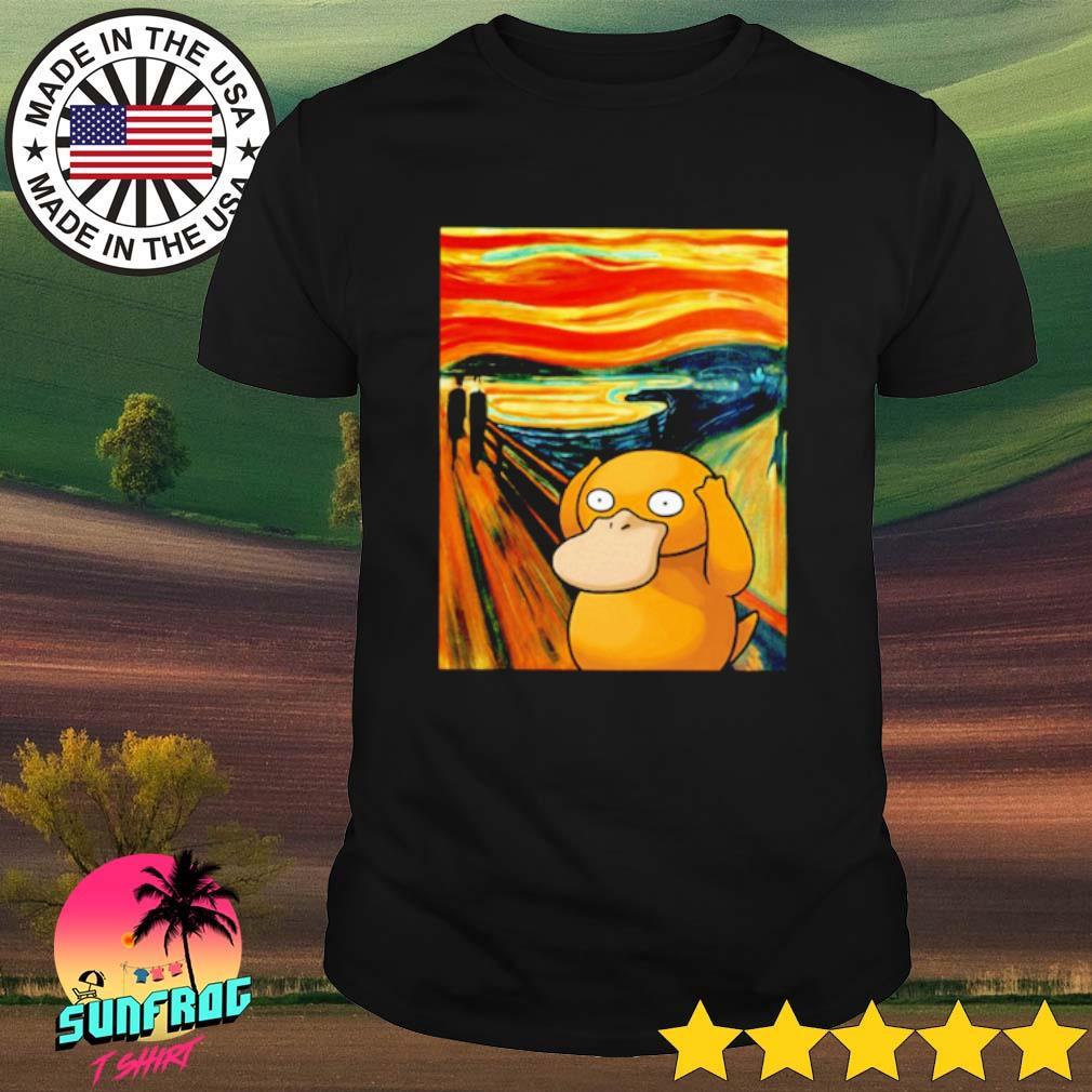 Pokemon Psyduck Van Gogh shirt