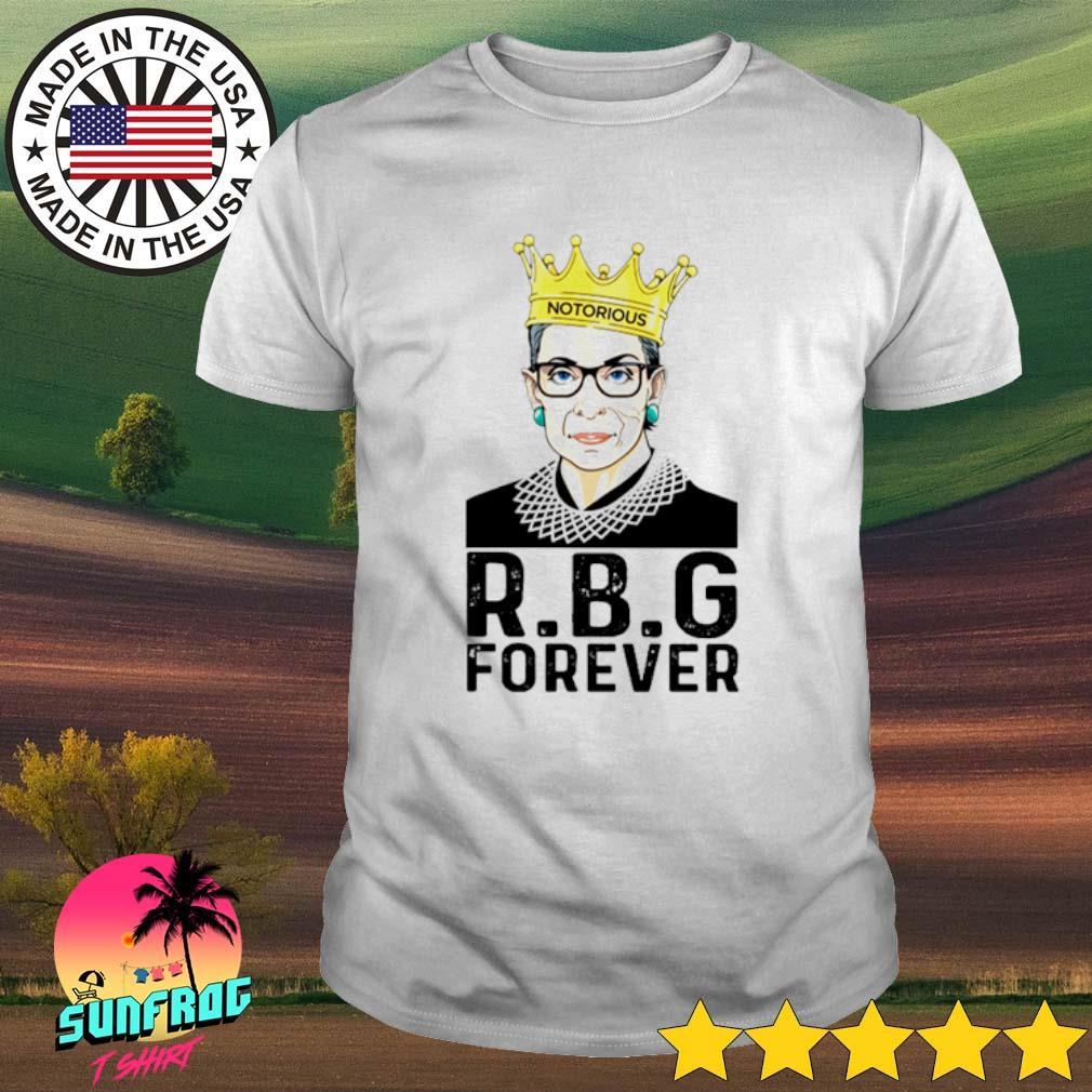 Ruth Bader Ginsburg R.B.G forever shirt