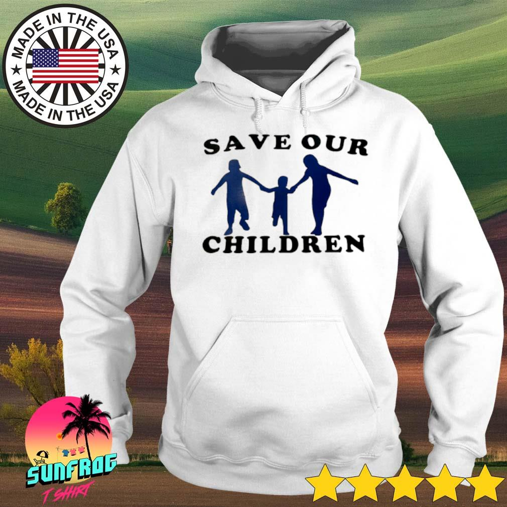 Save our children s Hoodie White