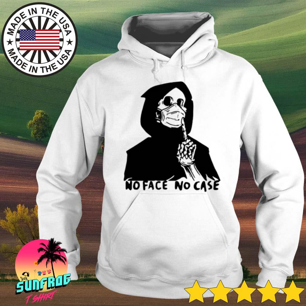Skeleton face mask No Face No Case s Hoodie White