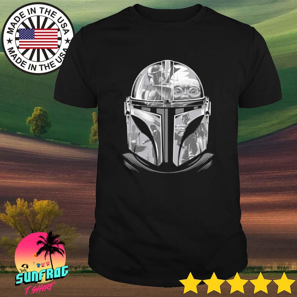Star Wars The Mandalorian Helmet Mandalorian shirt