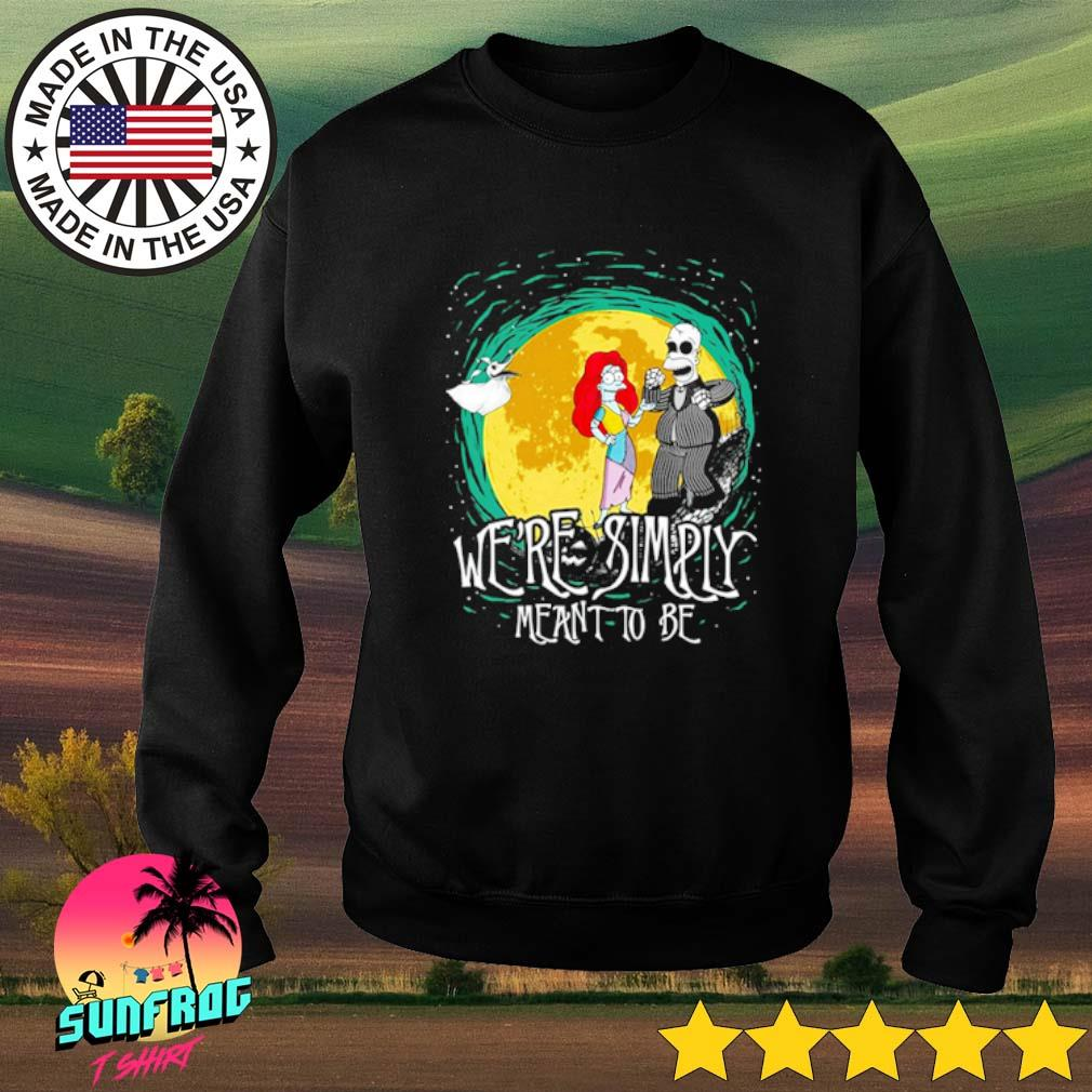 The Nightmare Before Homer Simpson and Marge Simpson we're simply meant to be s Sweater Black