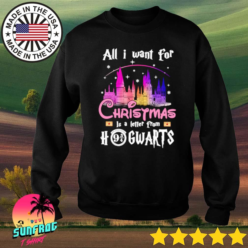 All I want for Christmas is a letter from Hogwarts sweater