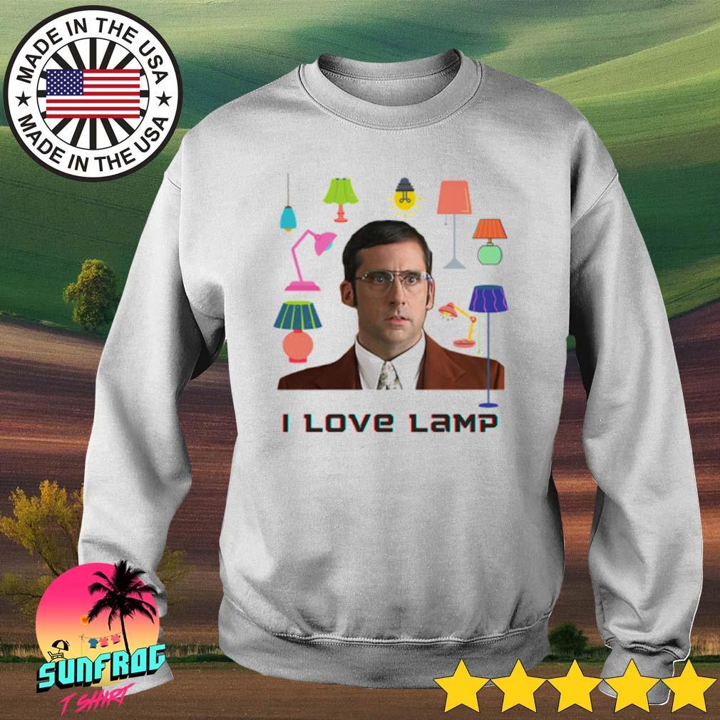 Anchorman I love lamp shirt