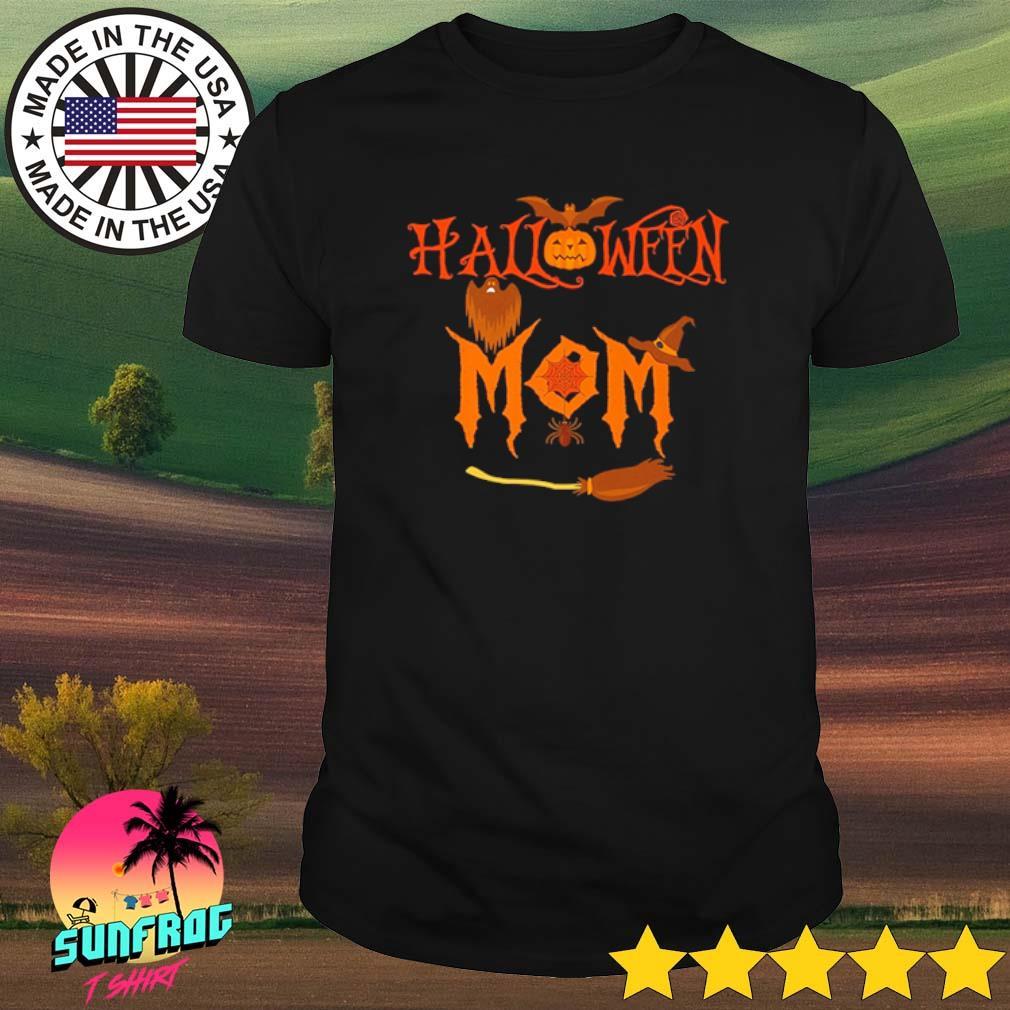 Bats Halloween mom shirt