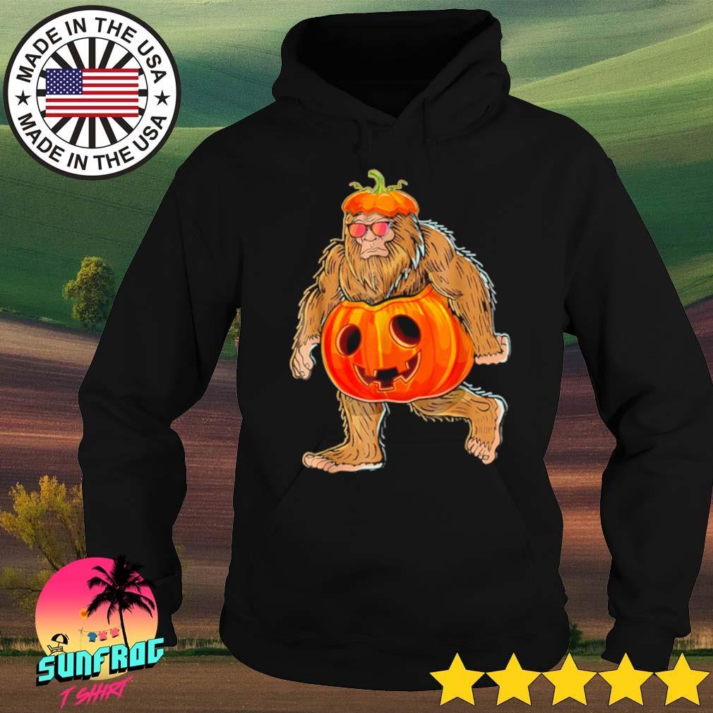Bigfoot pumpkin Halloween s Hoodie