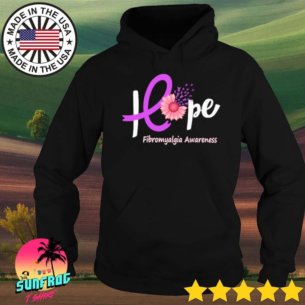 Breast cancer hope Fibromyalgia awareness s Hoodie