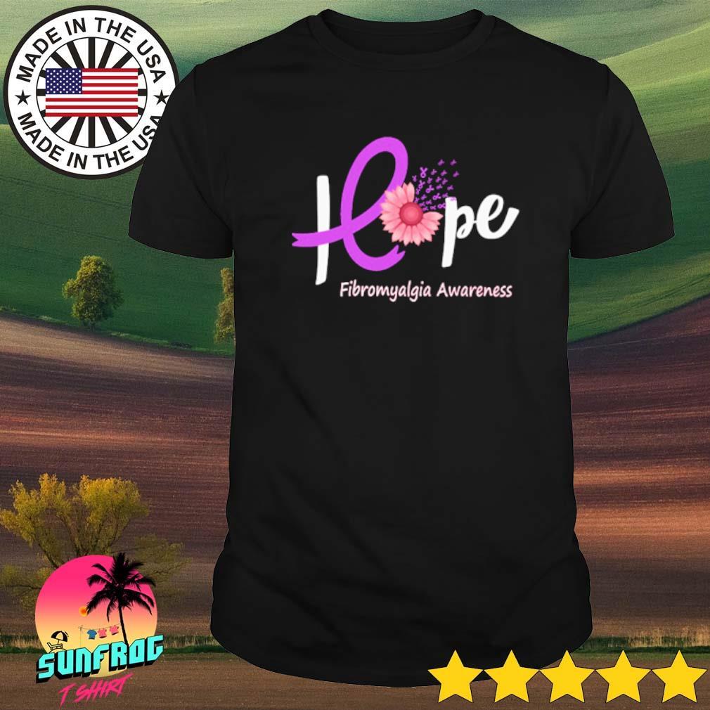 Breast cancer hope Fibromyalgia awareness shirt
