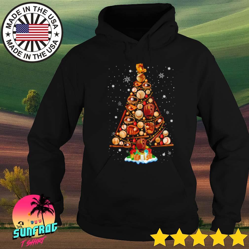 Christmas tree baseball s Hoodie Black