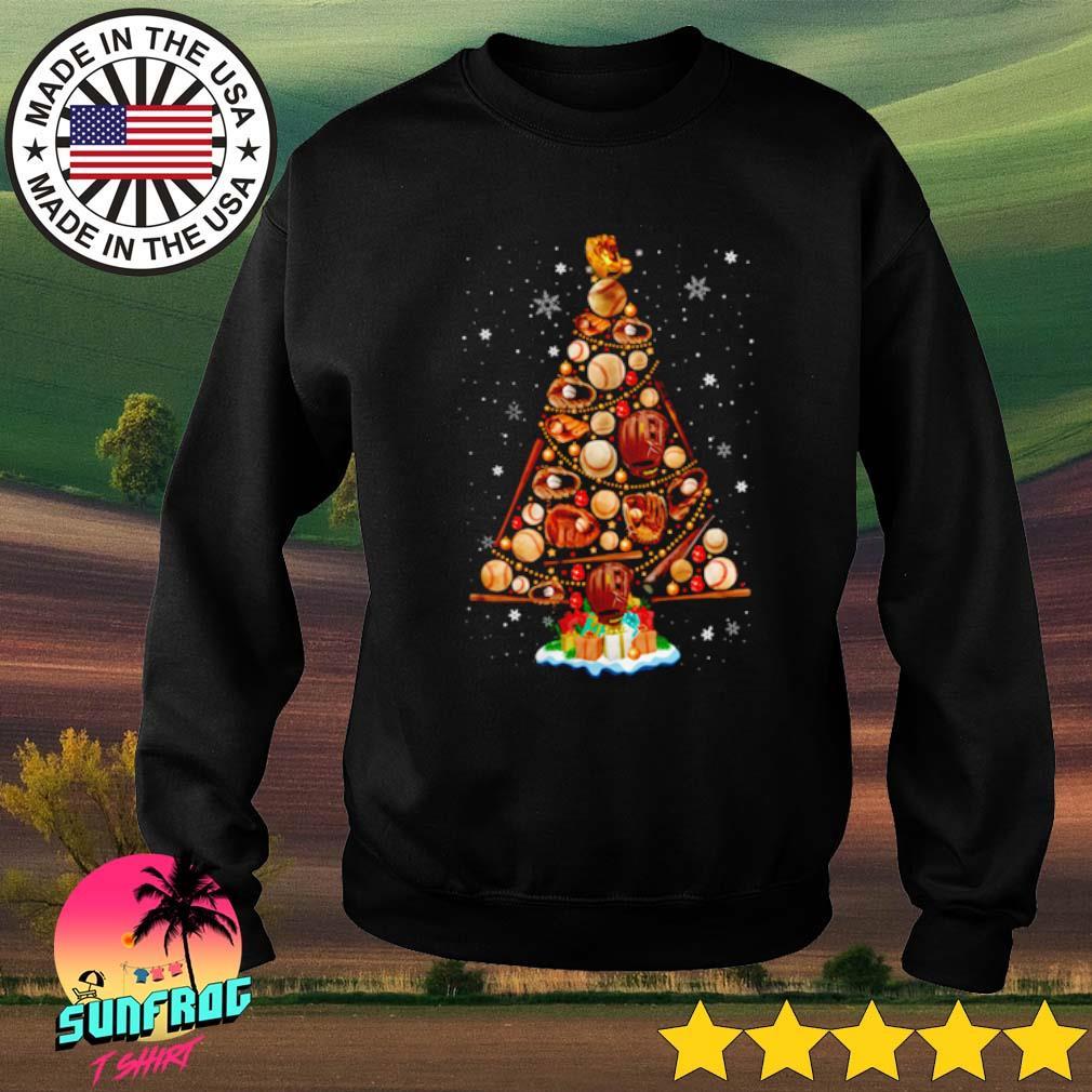 Christmas tree baseball s Sweater Black