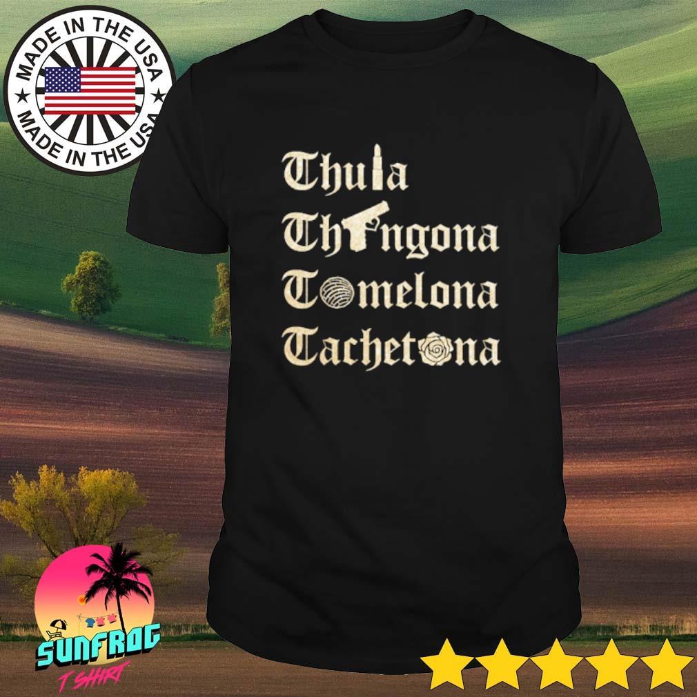 Chula Chingona Comelona Cachetona shirt
