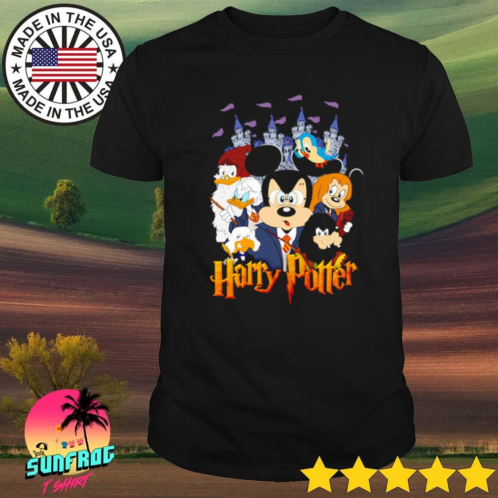 Disney Donald Duck and Mickey Mouse harry potter shirt