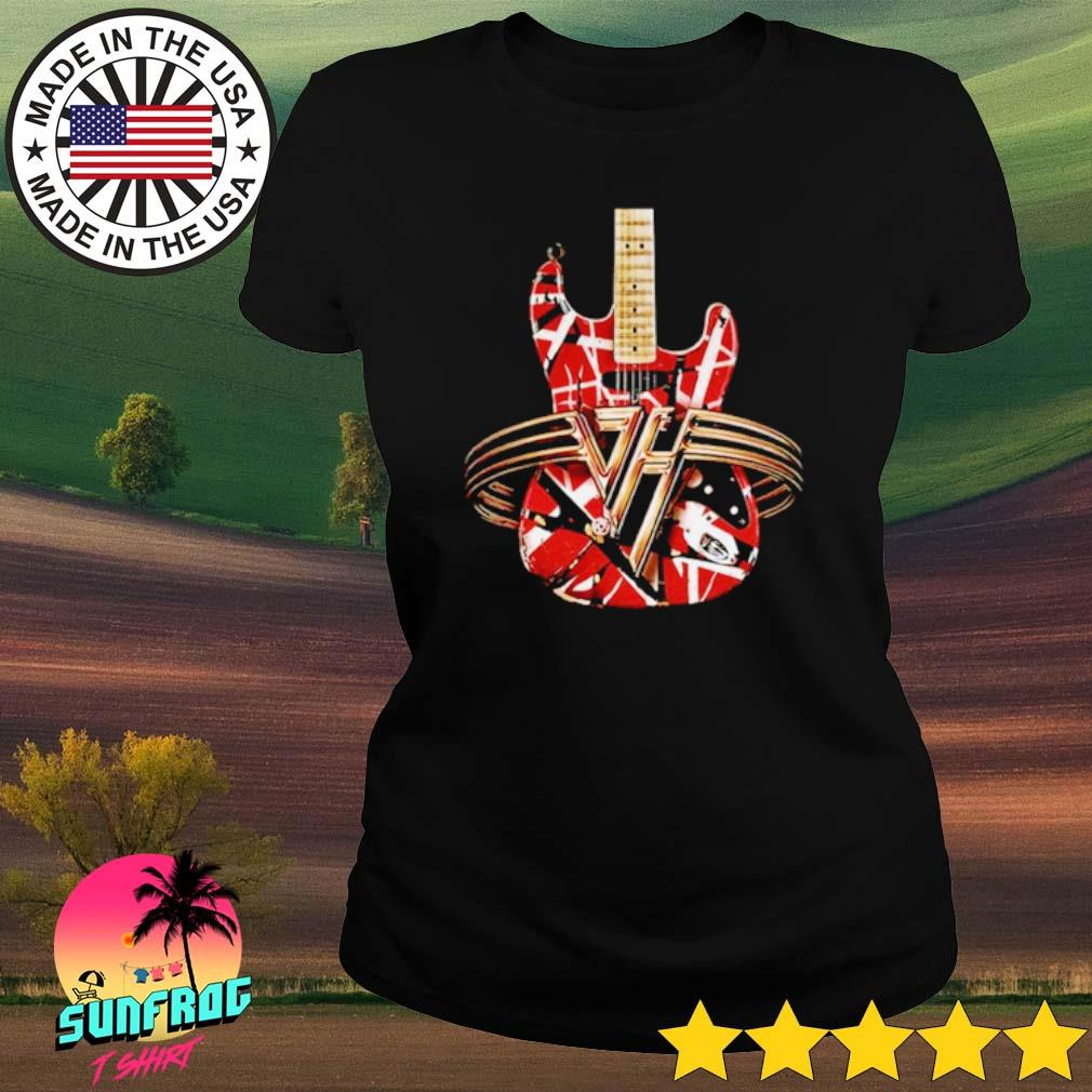 Eddie Van Halen Guitar s Ladies tee