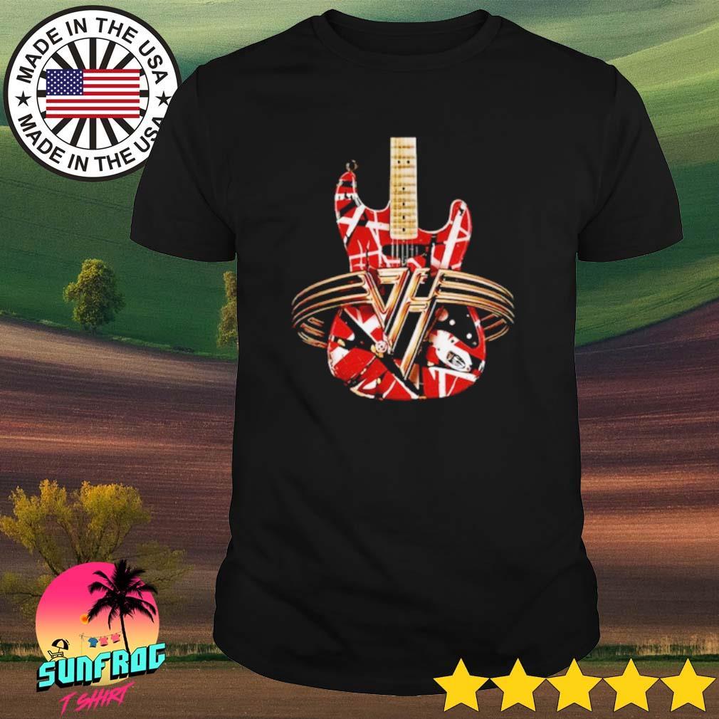 Eddie Van Halen Guitar shirt
