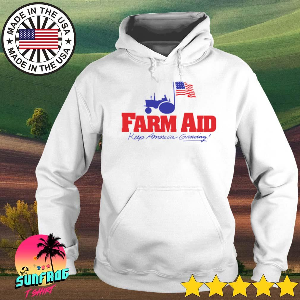Farm aid keep America growing s Hoodie White