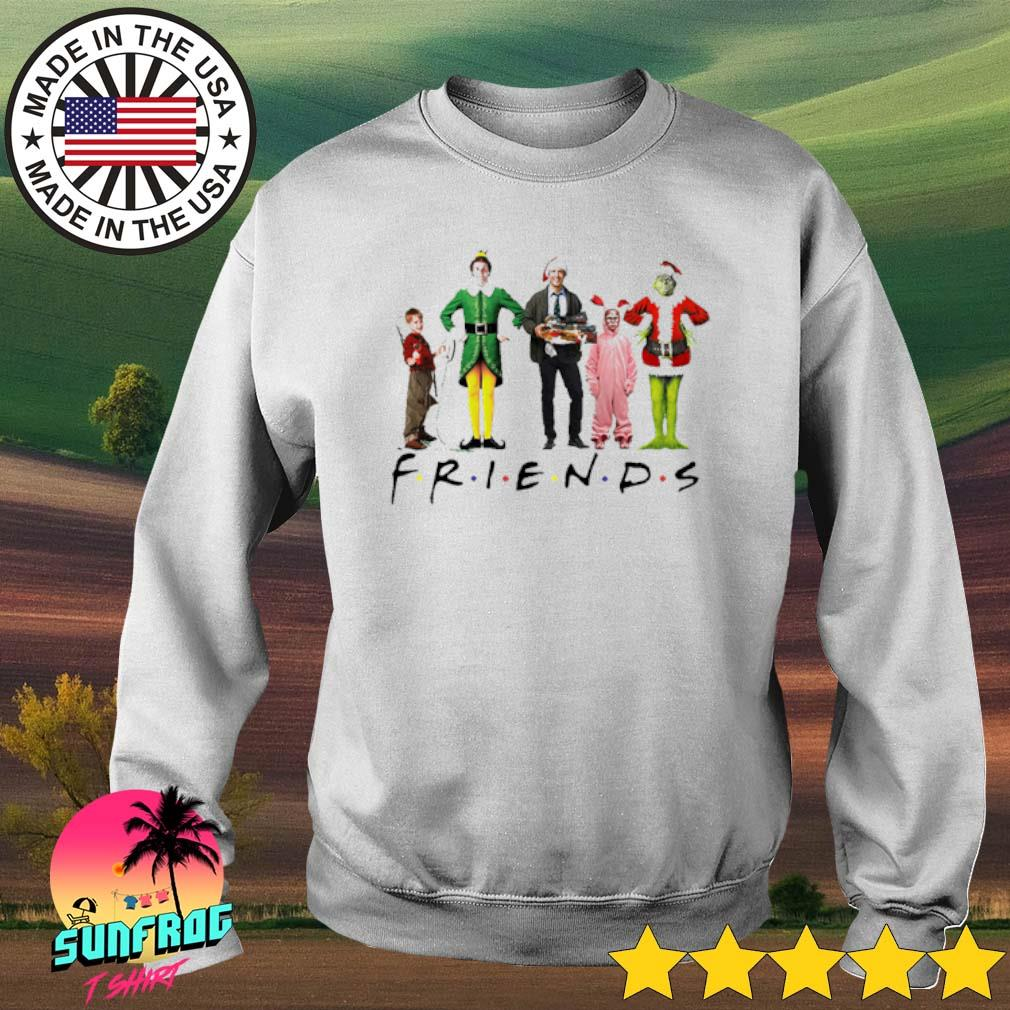 Friends ELF Christmas movie characters sweater
