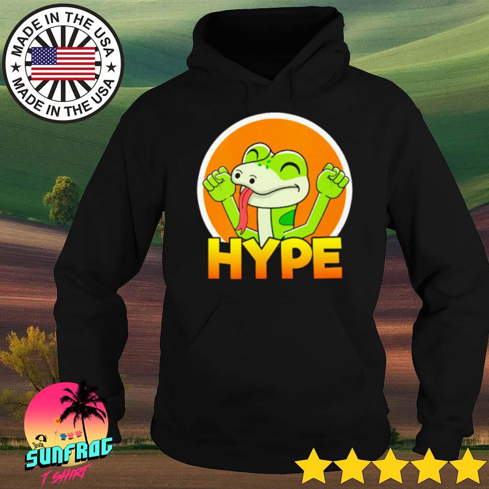 Frog hype sunset s Hoodie
