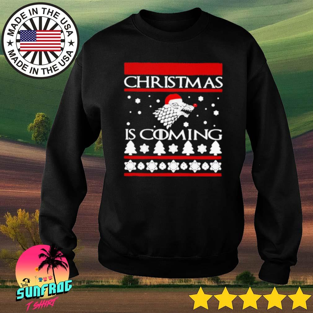 Game of Thrones Christmas is coming ugly sweater