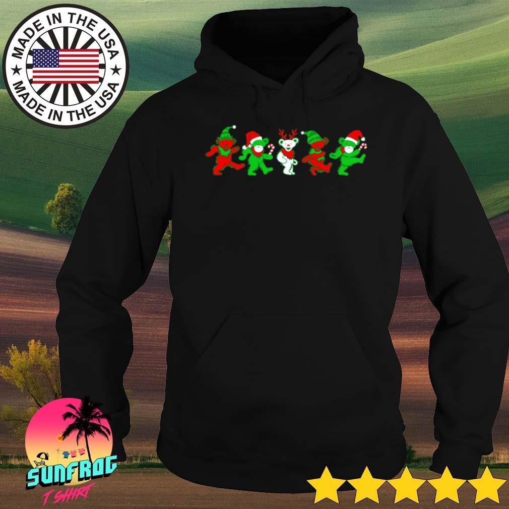 Grateful dead bears Christmas sweater Hoodie