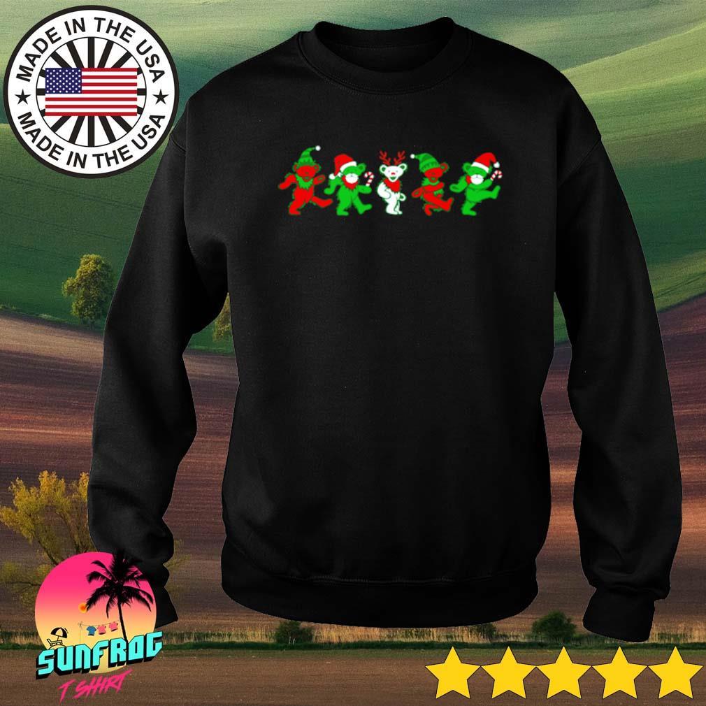 Grateful dead bears Christmas sweater