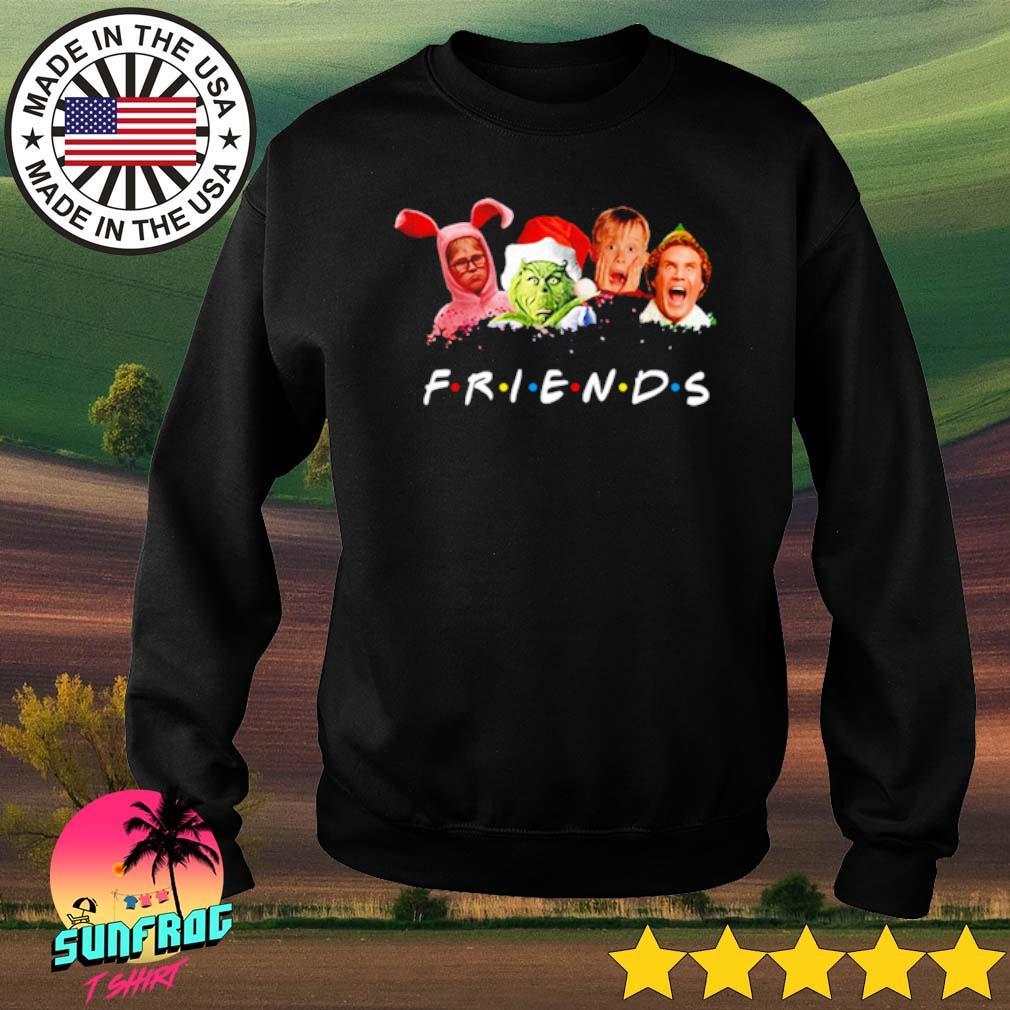 Grinch Ralphie Elf Kevin Christmas friends sweater