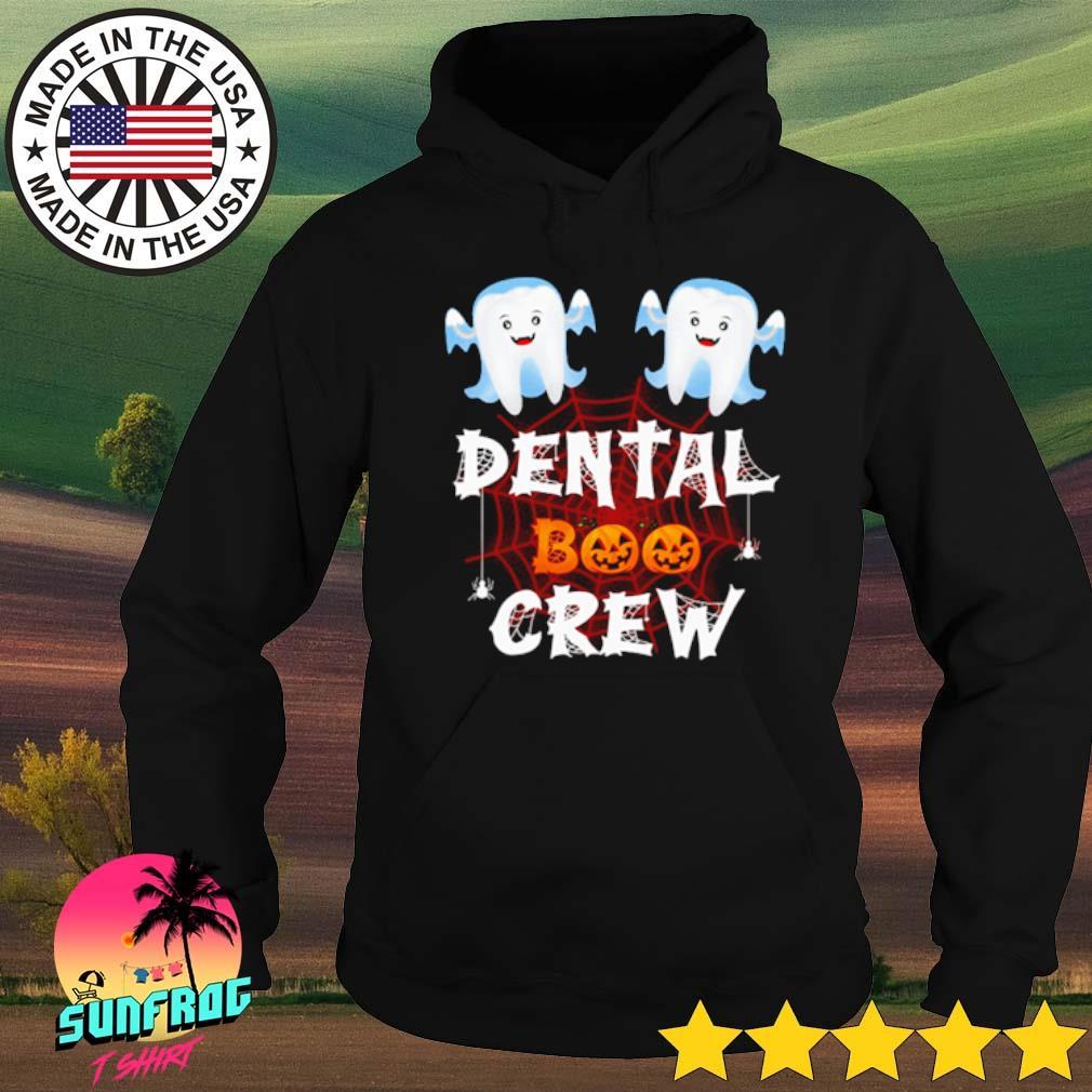 Halloween Dental Boo crew s Hoodie Black