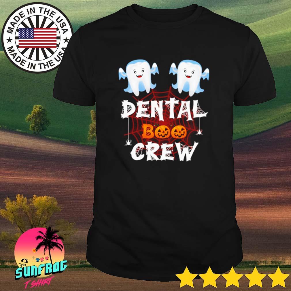 Halloween Dental Boo crew shirt