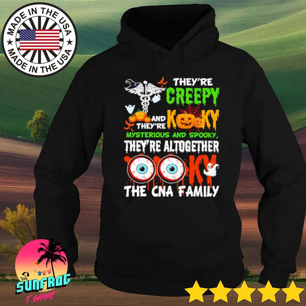 Halloween They're creepy and they're kooky mysterious and spooky they're altogether s Hoodie Black