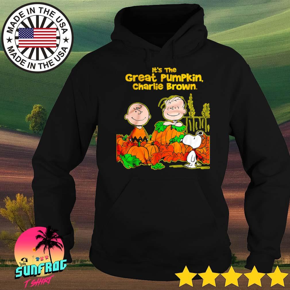 It's the great pumpkin Charlie Brown the Peanuts movie Halloween s Hoodie
