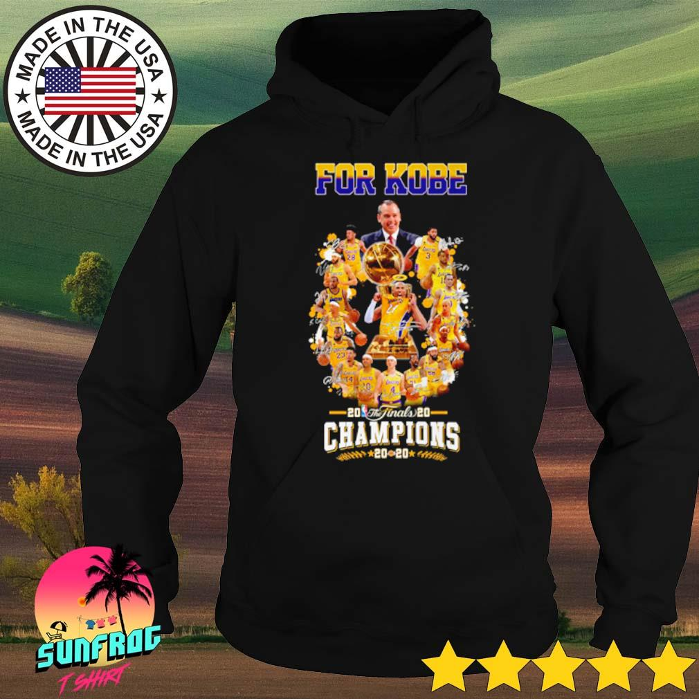 Los Angeles Lakers for Kobe 2020 the finals Champions s Hoodie