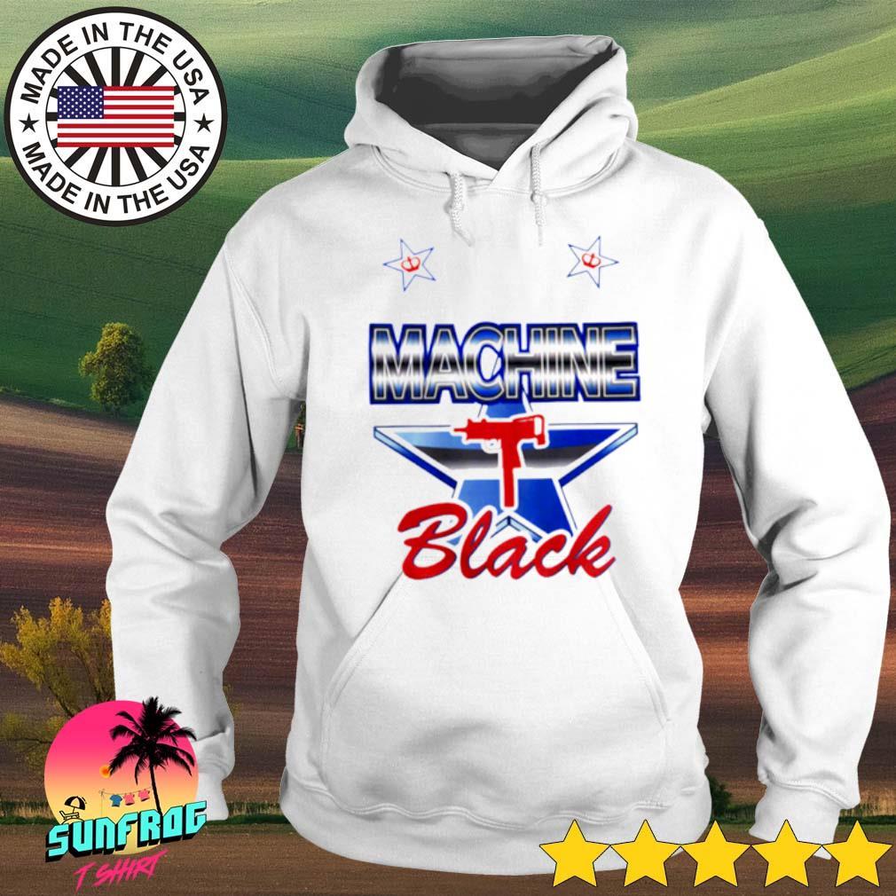 Machine Black gun s Hoodie