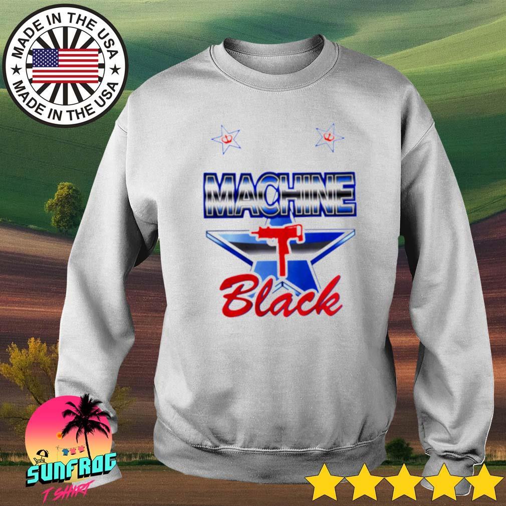 Machine Black gun s Sweater