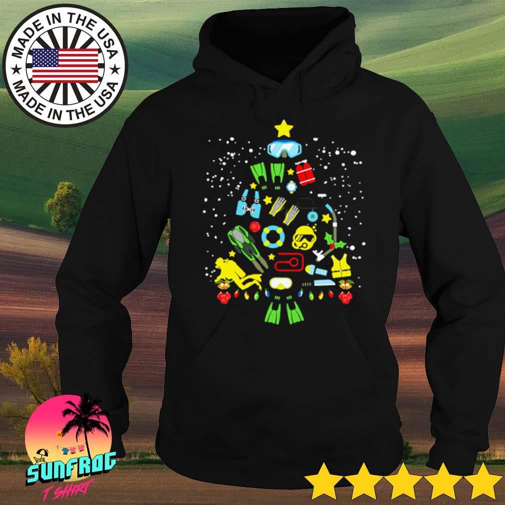 Scuba diving Christmas sweater Hoodie