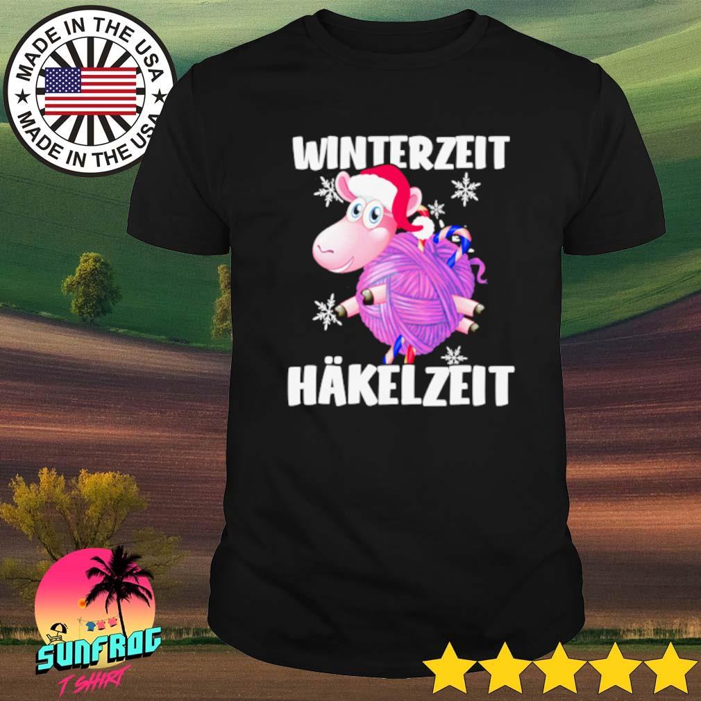 Sheep Winterzeit Hakelzeit Christmas sweater