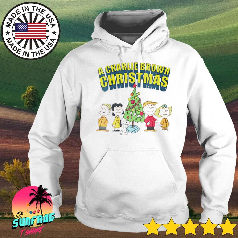 The Peanuts Snoopy Charlie Brown and friends Christmas sweater Hoodie