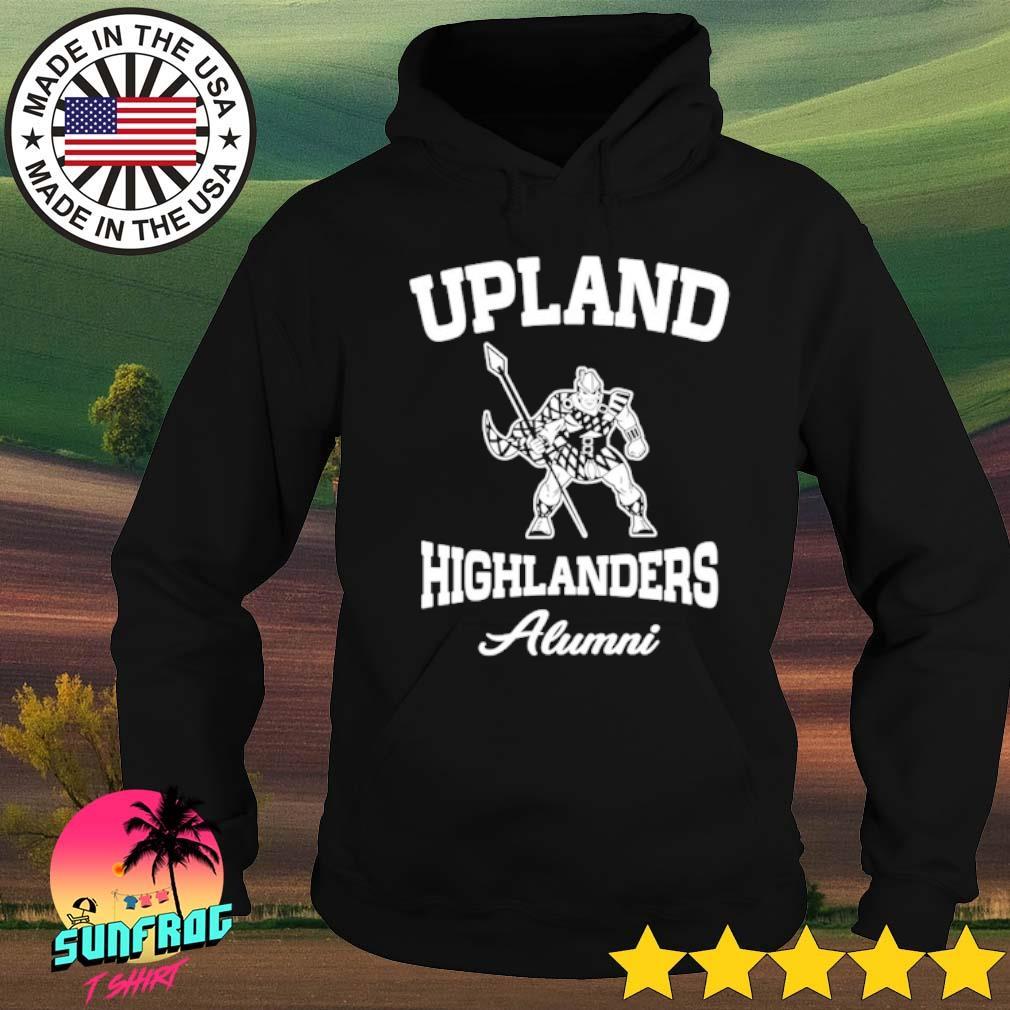 Upland highlanders Alumni s Hoodie Black