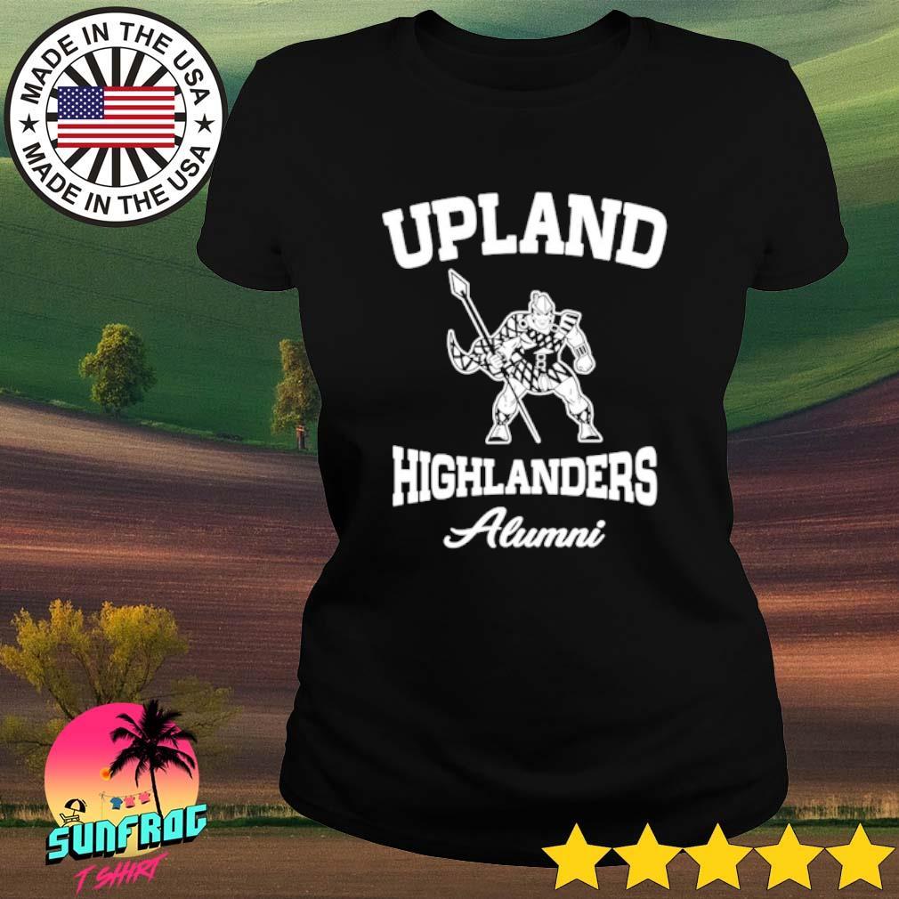 Upland highlanders Alumni s Ladies Tee Black