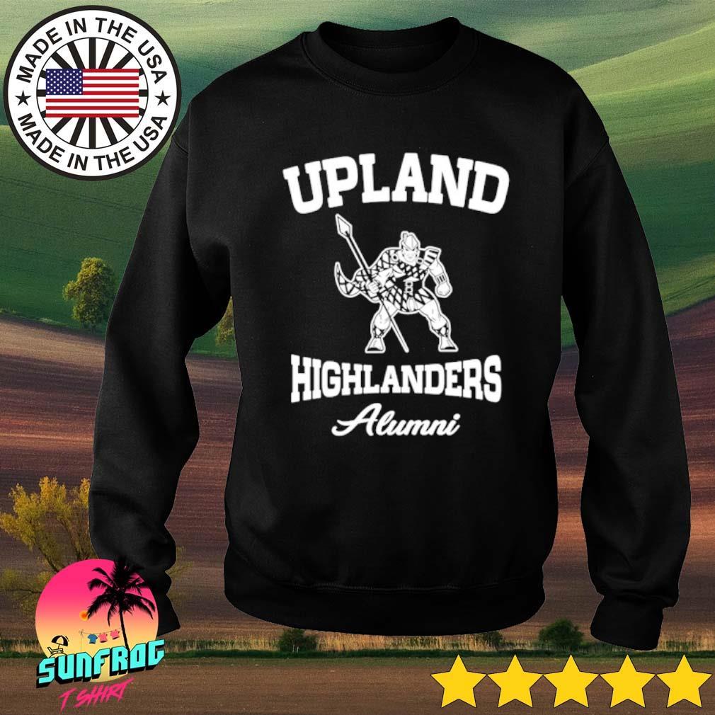 Upland highlanders Alumni s Sweater Black