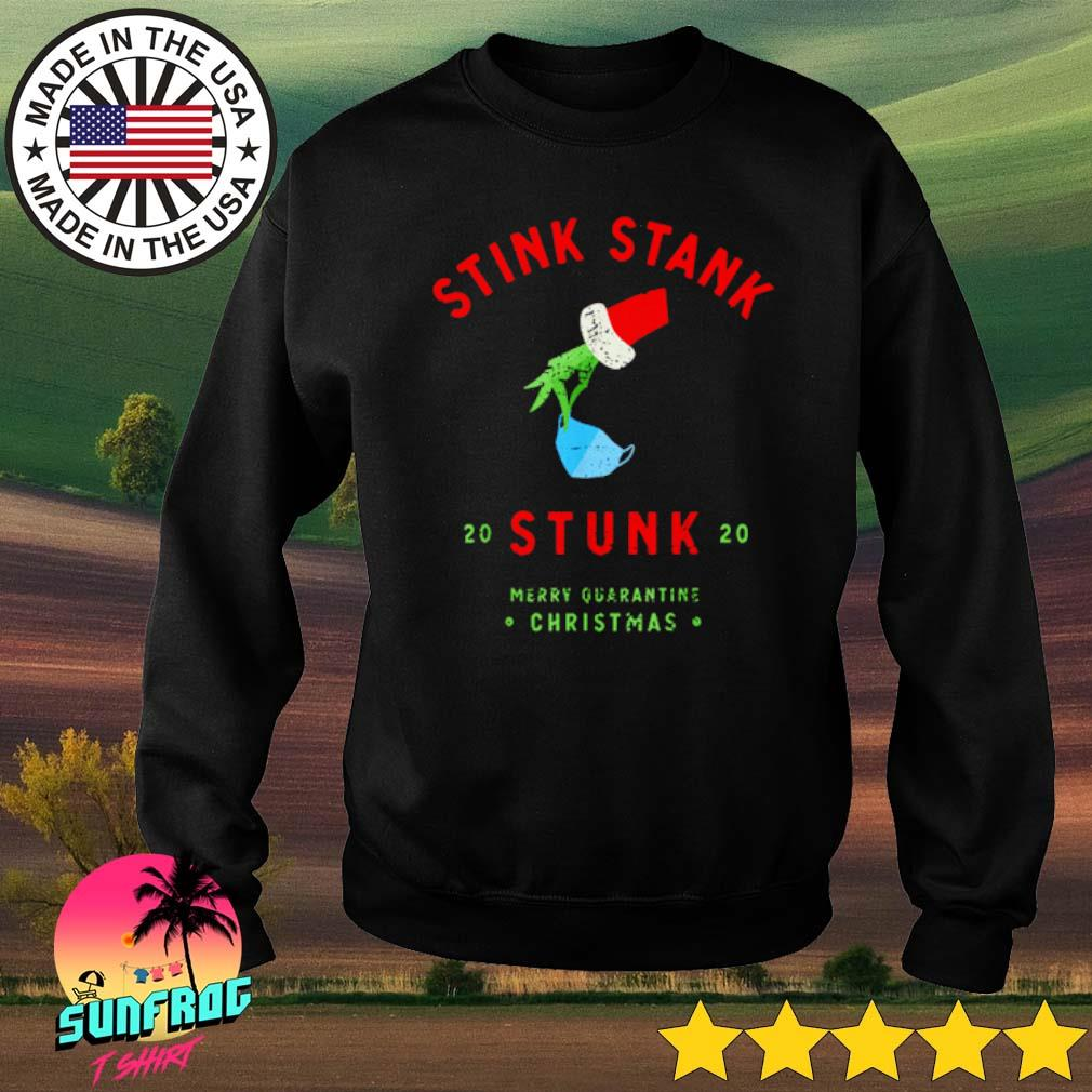 2020 Stink stank stunk mery quarantine Christmas sweater