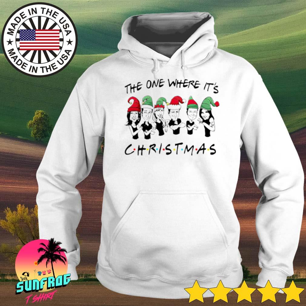 Friends the one where it's Christmas sweater Hoodie