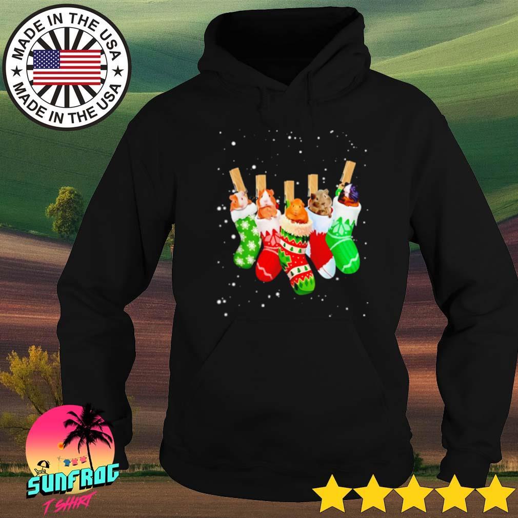 Guinea Pig Christmas socks sweater Hoodie