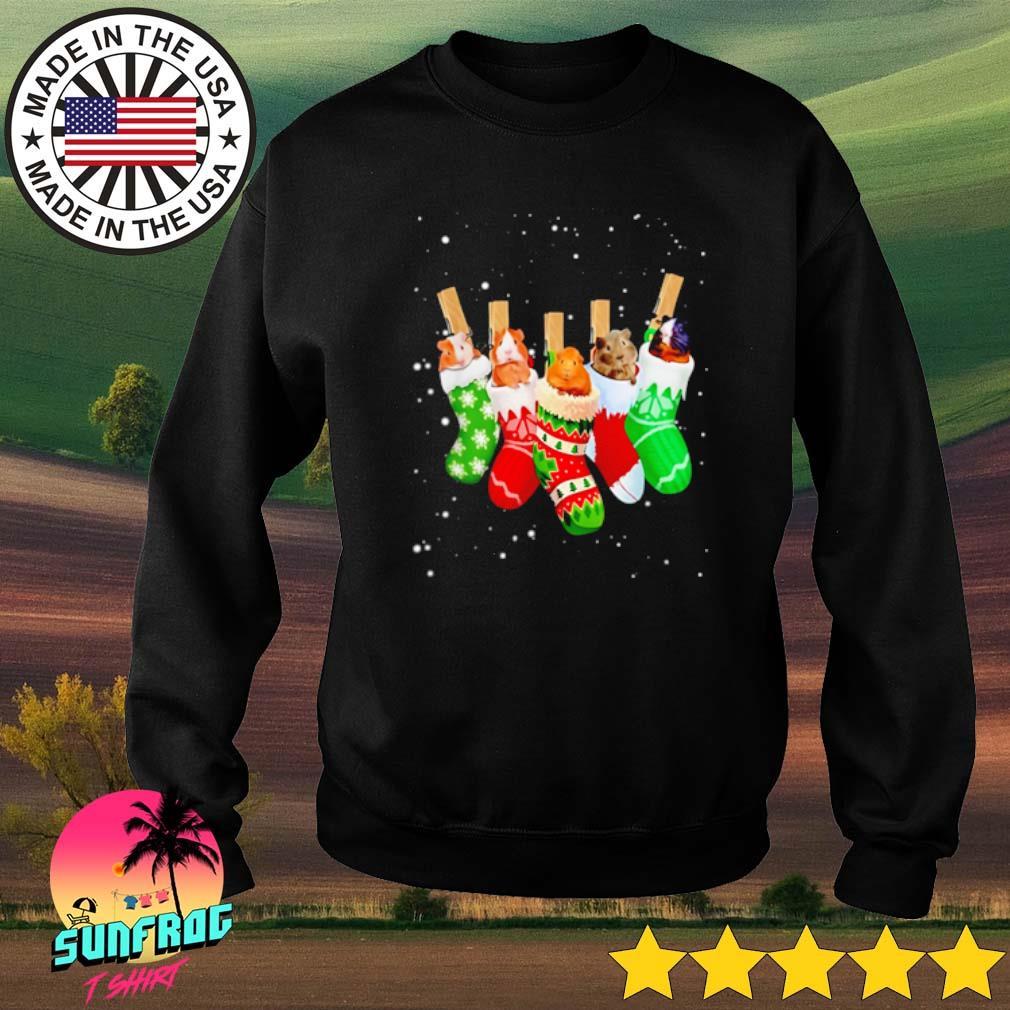 Guinea Pig Christmas socks sweater