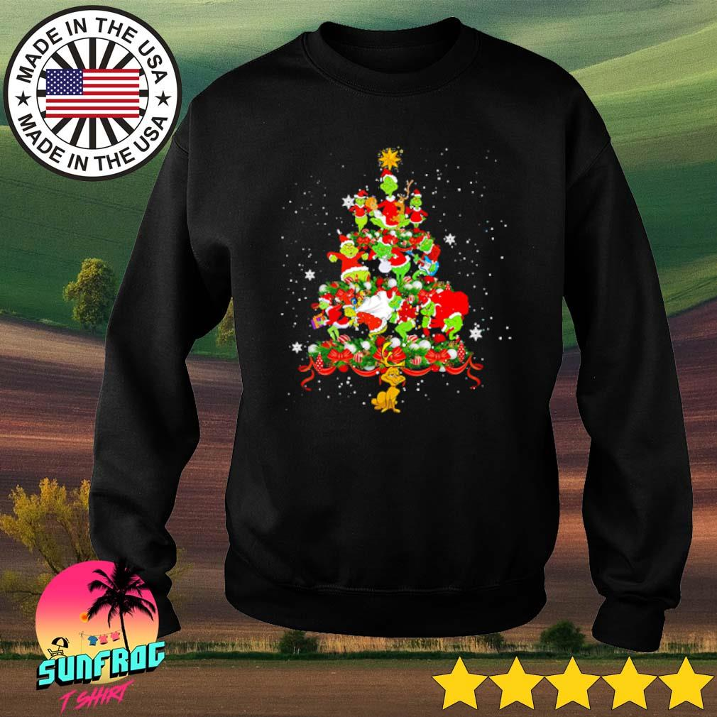 The Grinch Christmas tree sweater