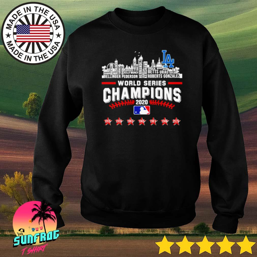 World series Champions 2020 Christmas sweater